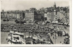 13marseille Le Port Et Quai Des Plaisances Vieux Taco Bateaux Animée - Other