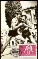 Romania, Maximum Card, Sports, Wrestling - Lutte