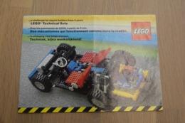 LEGO - CATALOG 1981 Technic - Original Lego 1981 - Vintage - EN - Big - Kataloge