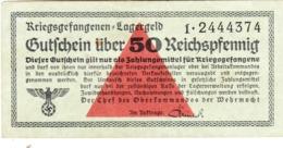 Billet De 50 Reichspfennig - Autres