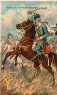 CHROMO CHOCOLAT GRONDARD HUSSARDS DE LAUZUN 1787 - Altri
