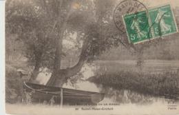 C. P. A. - LES BAUX SITES DE LA MARNE - SAINT MAUR - CRETEIL - 90 - F. F.-  BARQUE - Creteil