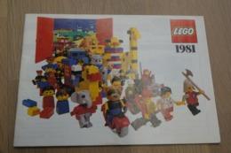 LEGO - CATALOG 1981 - Original Lego 1981 - Vintage - EN - Big - Kataloge