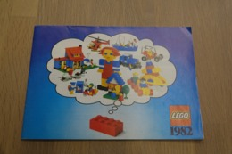 LEGO - CATALOG 1982 - Original Lego 1982 - Vintage - EN - Big - Kataloge