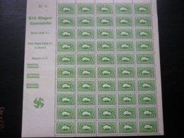 50 Revenue 1938 Germany KDF VW Volkswagen Reich Saving Stamps - Neufs