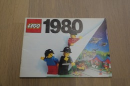 LEGO - CATALOG 1980 - Original Lego 1980 - Vintage - EN - Big - Catalogs