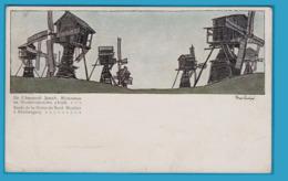 Grabar Dvina Mills En Train De Peindre Eugenia - Windmills