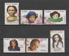 """FRANCE / 2009 / Y&T N° 4394/4399 ** : Série Complète 6 TP  """"Poupées De Collection"""" X 1 - Gomme D'origine Intacte - Unused Stamps"""