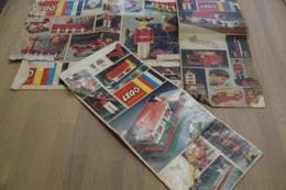 LEGO - BOX CUT's Lot - Original Lego 1970-80's - Vintage - EN - Kataloge