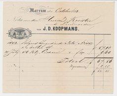 Nota Marrum 1883 - Paardentredmolen - Paesi Bassi