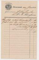Nota Murmerwoude 1884 - Paardentredmolen - Grutterij - Paesi Bassi