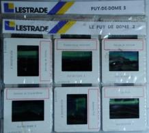 LE PUY DE DOME   2/3    : 12 DIAPOSITIVES LESTRADE SUR FILM KODAK - Diapositives