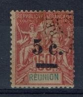"""Réunion Island, 5c./50c. Type """"Groupe"""", 1901, VFU - La Isla De La Reunion (1852-1975)"""