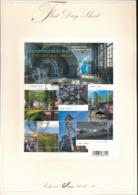 BELGIUM COB 4110/4114 FDS 2011 10 - FDC