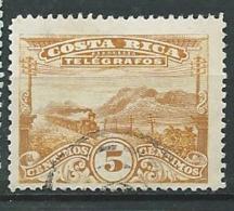 Costa Rica   -  Télégraphe  -yvert N° 5 B  Oblitéré   - Az 27604 - Costa Rica