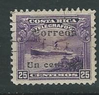 Costa Rica      -  Yvert N°  81 Oblitéré      - Az 27624 - Costa Rica