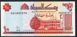 SUDAN P52 10 DINARS 1993 #HH    UNC. - Soedan