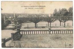 BELLAC Jardin Public - Bellac