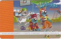 GIFT CARD - SWITZERLAND - MIGROS 706 - LILIBIGGS - BASKETBALL - Tarjetas De Regalo