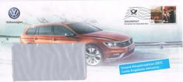 Deutschand Dialogpost 2017 - Volkswagen VW Passat - Auto, Car - BRD