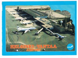 VV-479  HELSINK-VANTAA Airport ( Size 21 X 15 Cm ) - Aérodromes