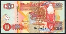 ZAMBIA P37d 50 KWACHA  2003 #BE/03    UNC. - Zambia