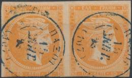GREECE - 1876/86, Mi29, 10 Lept, Large Hermes - Gebraucht