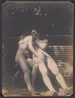 Original Vintage Photo Porn Nu On Thin Photo Paper 16x12cm - Belleza Feminina (...-1920)