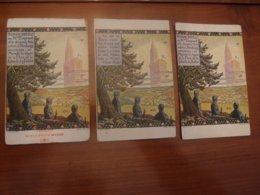 3 CPA Originales Anciennes Hansi Strasbourg CPA éditions Différentes Voir Recto Verso - Hansi