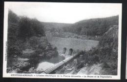 58, Chateau-Chinon, L'usine Electrique De La Pierre Glissotte, La Digue Et La Tuyauterie - Chateau Chinon