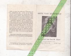 Blaadje Akte Van Eereboet, Mechelen - Andachtsbilder
