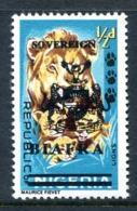 Biafra - Nigeria 1968 Wildlife Overprints - ½d Lion HM (SG 4) - Nigeria (1961-...)
