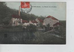 CBPNCPF6/ France CP Byans(Doubs) Le Moulin De La Froidière (1908) - Francia