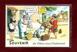 25-CARTE POSTALE DE VILLERS SOUS CHALAMONT - Francia