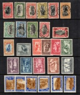 Congo Belge Belle Petite Collection 1910/1940. Bonnes Valeurs. B/TB. A Saisir! - Belgian Congo