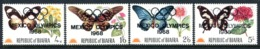 Biafra - Nigeria 1968 Butterflies - Olympic Games - Set HM (SG Unlisted) - Nigeria (1961-...)