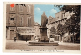 03391-LE-13-AIX-en-PROVENCE-Le Roi René (Station Des Tramways)--------------animée-commerces-tramway - Aix En Provence