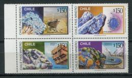 Chile 1996 / Minerals Geology MNH Minerales Mineralien / Cu5835  31-52 - Minerali