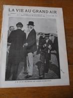 VIE AU GRAND AIR/1898/N°11/COURSES DE DEAUVILLE/TROUVILLE/MONT BLANC/ JANSSEN/COURSE DE 72 H/ VELODROME PARC DES PRINCES - 1850 - 1899