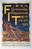 15877 Trieste - Fiera Campionaria Internazionale Trieste 1922 - Trieste