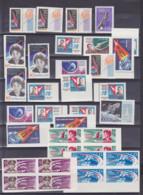 Raumfahrt Tereschkowa, Sputnik Wostok - 4, Lot ** Marken Teils Gezähnt Und Geschnitten, Dabei Viererblöcke Von 1961/63 - Espace