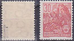 DDR 416y XII 30 Pf. 5-Jahrplan Geprüft Postfrisch - DDR