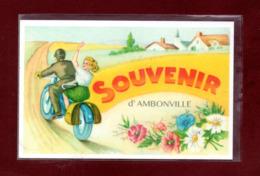 52-CARTE POSTALE AMBONVILLE - Autres Communes