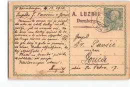 17676 A. LUZNIK DORNBERG -TRIEST 156 TO GORICA - Postwaardestukken