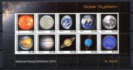 Sri Lanka 2014 Ceylan / Planets Astronomy Solar System MNH Astronomia Planetas Planeten Astronomie / C9623  31-3 - Astrología