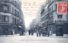 75 - PARIS 14 -  Rue De L Ouest Prise De La Rue Du Chateau - District 14