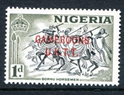 Cameroon 1960-61 Nigeria Overprints - 1d Horsemen MNH (SG T2) - Cameroon (1960-...)