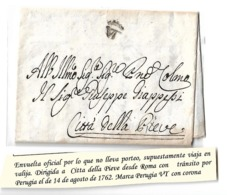 Carta Prefilatelica - 1. ...-1850 Prefilatelia