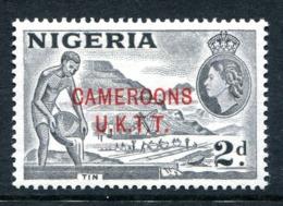 Cameroon 1960-61 Nigeria Overprints - 2d Tin LHM (SG T4) - Cameroon (1960-...)