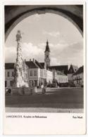 AK Langenlois, Kornplatz Mit Rathausstrasse, Foto- AK, Gel. - Langenlois